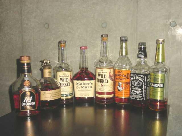 お勧めの定番バーボン&ライウィスキー