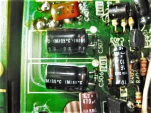 TC-K88 カセットデッキ 電解コンデンサ交換